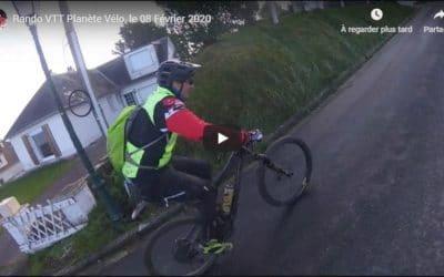 Rando VTT Planète Vélo, le 08 Février 2020