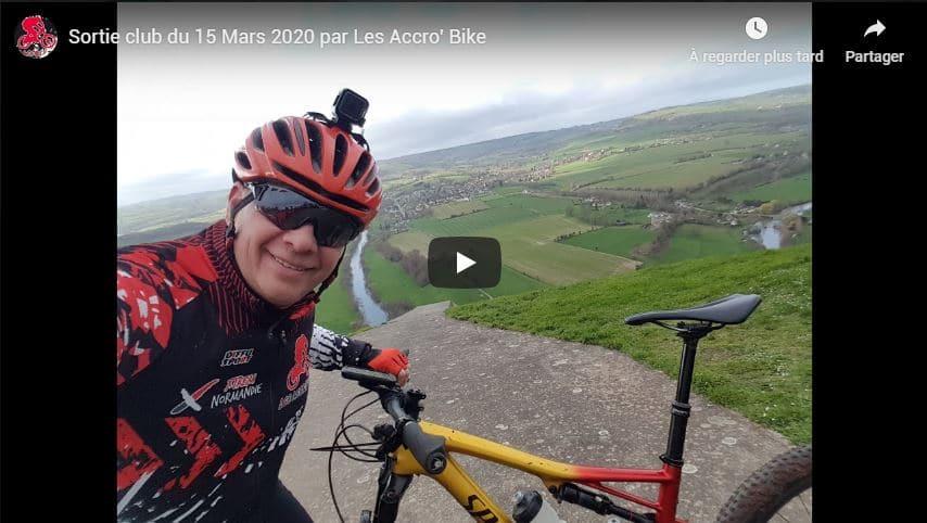 Sortie club du 15 Mars 2020 par Les Accro' Bike